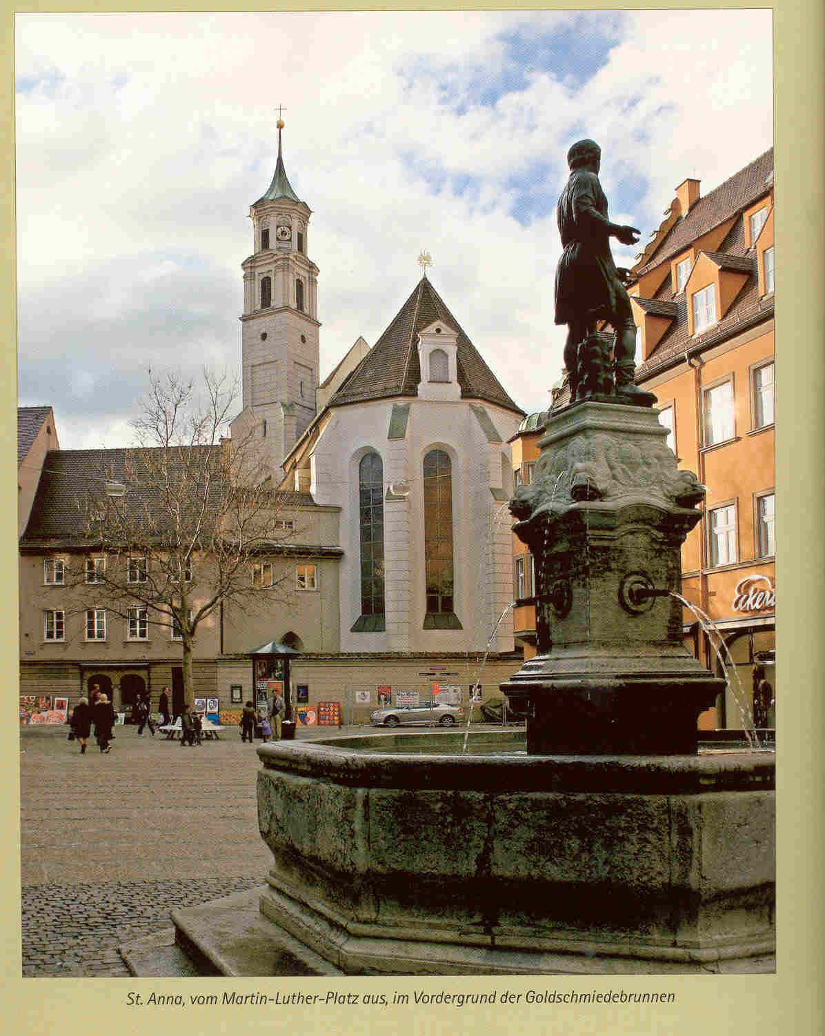 Luther In Augsburg